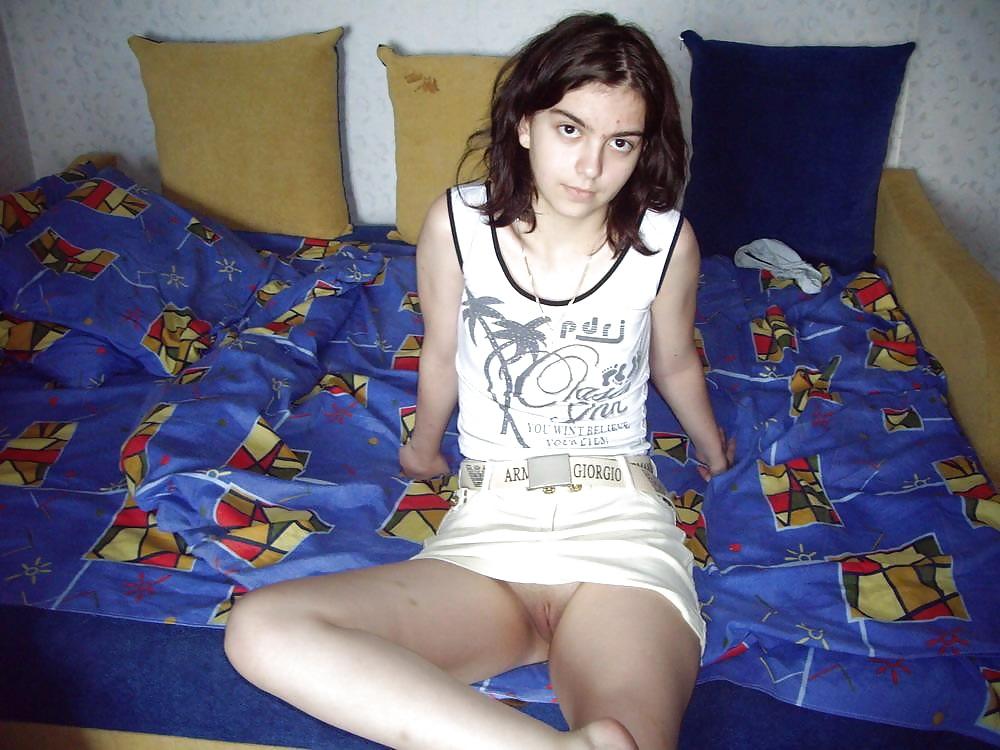 White hot white teen